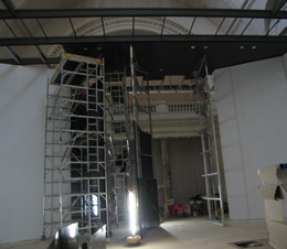 Exhibition Gallery 48 refurbishment.